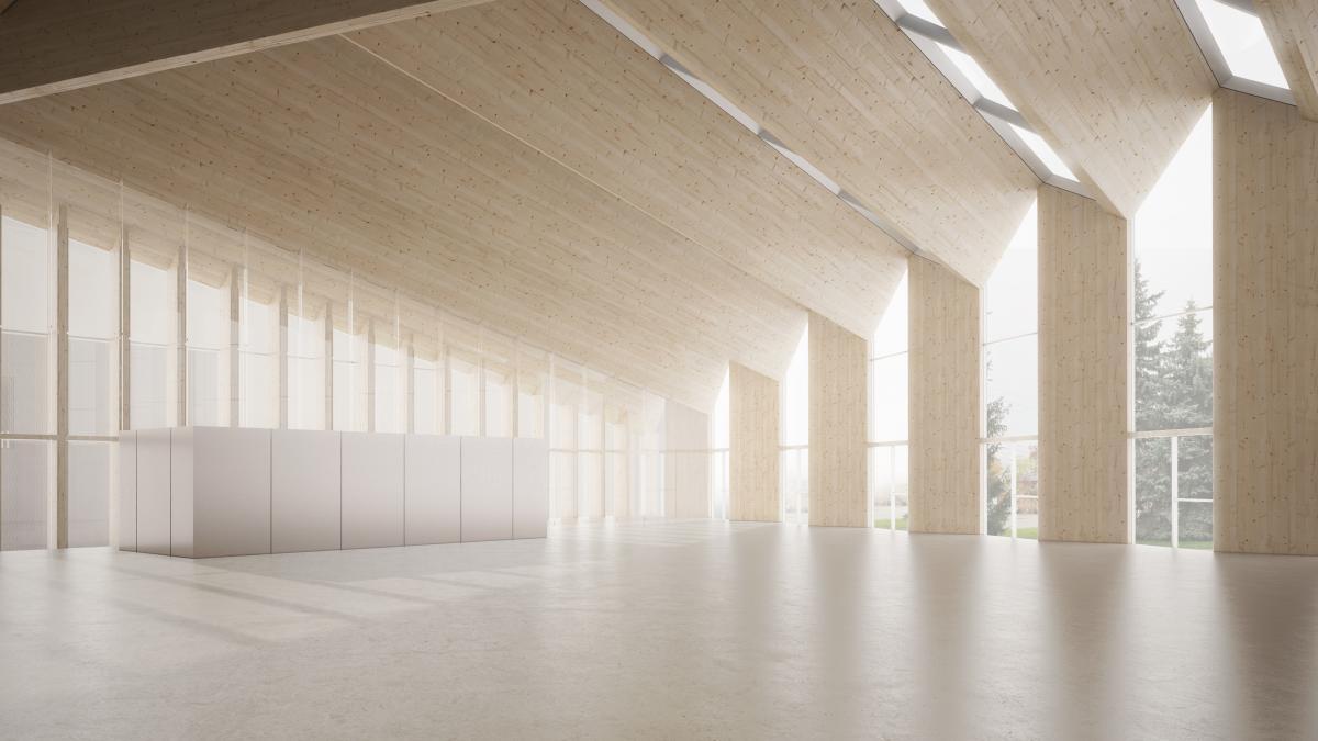 Finalist project - Pavillon de verre du Jardin botanique de Montréal