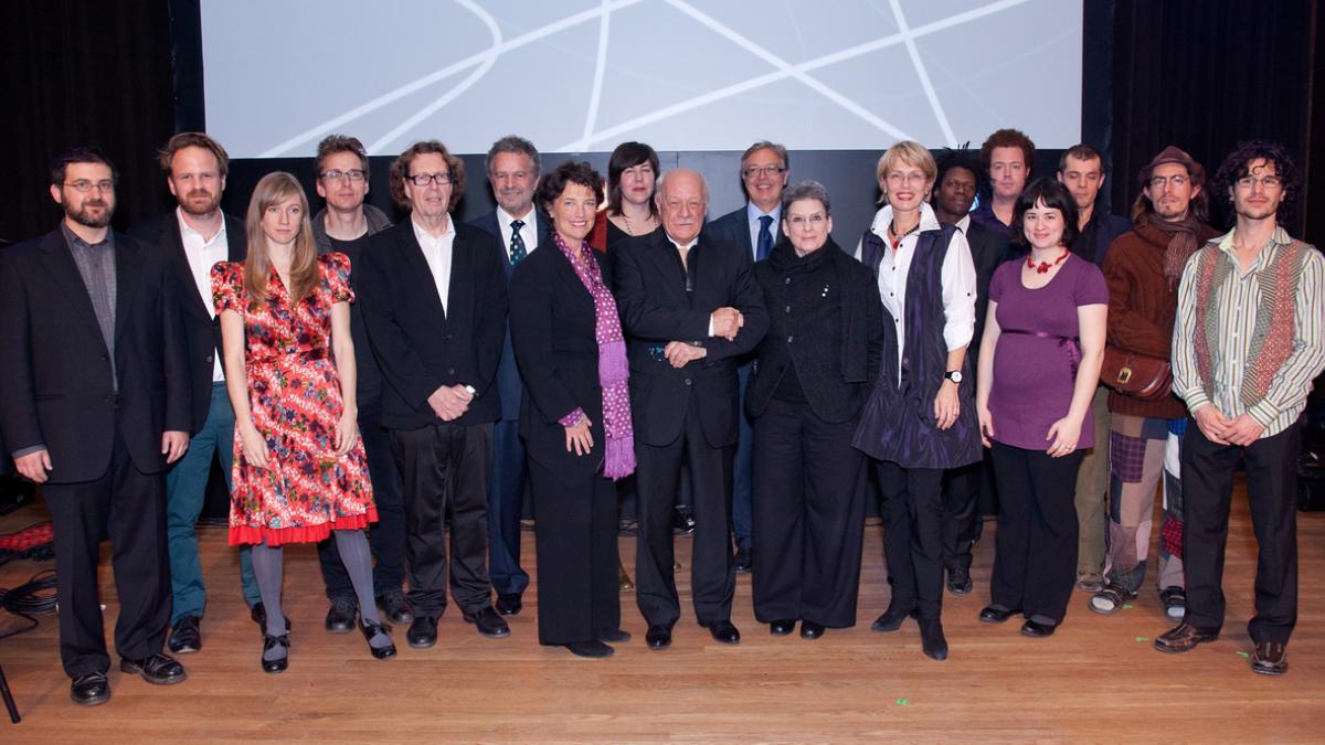 Soirée de remise des Prix de Montréal pour les arts et la culture, 1er novembre 2011 : récipiendaires