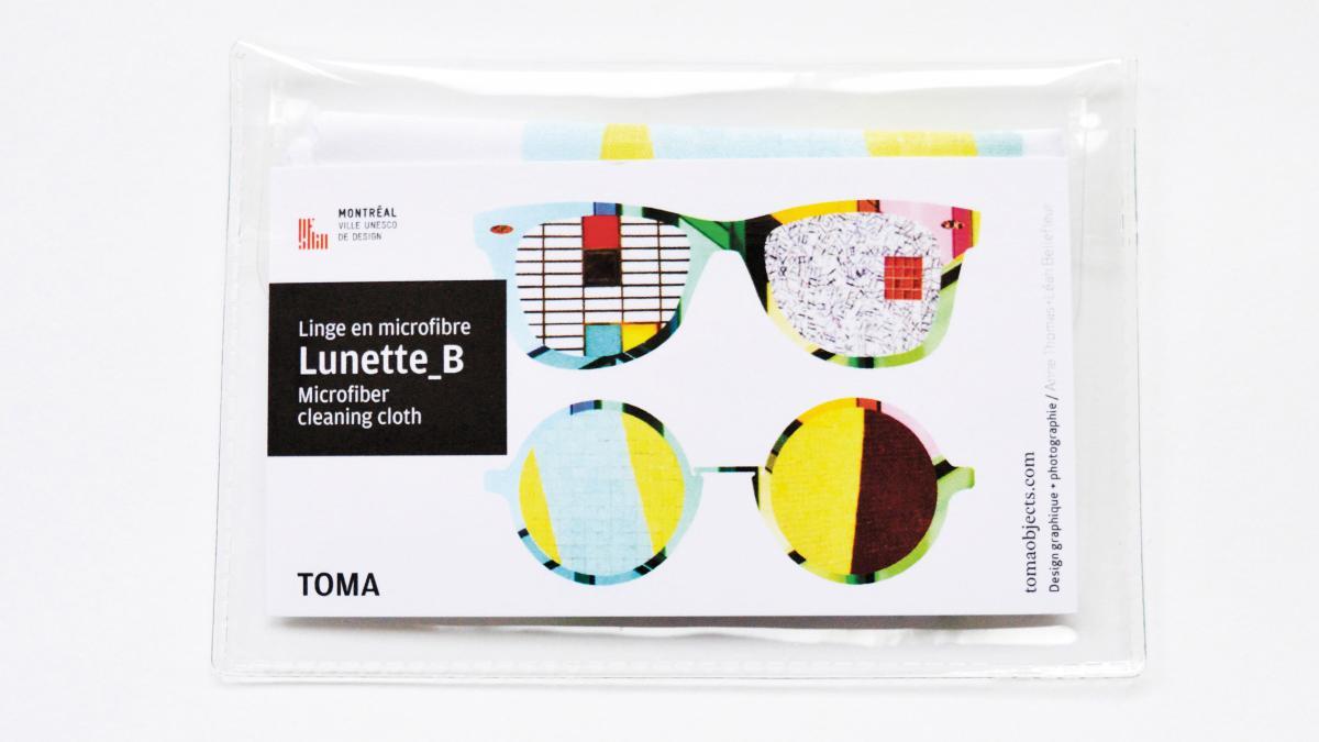 Nettoie-lunettes Lunettes B
