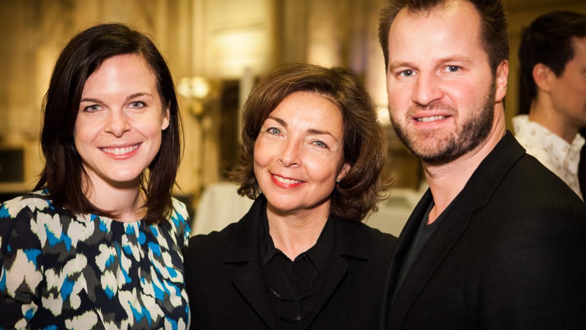 De g. à d : Émilie F. Grenier, Marie-Josée Lacroix, Philippe Lamarre