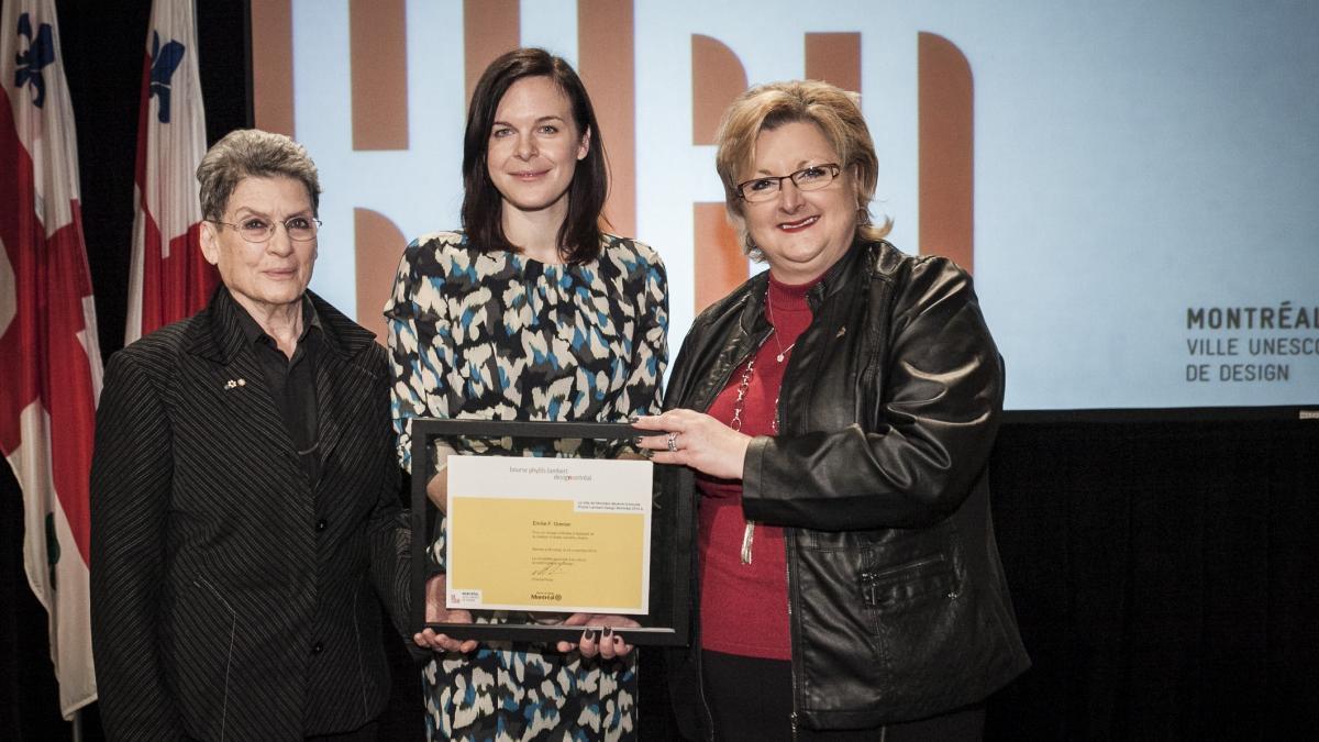 Phyllis Lambert, Emilie F. Grenier, Chantal Rossi