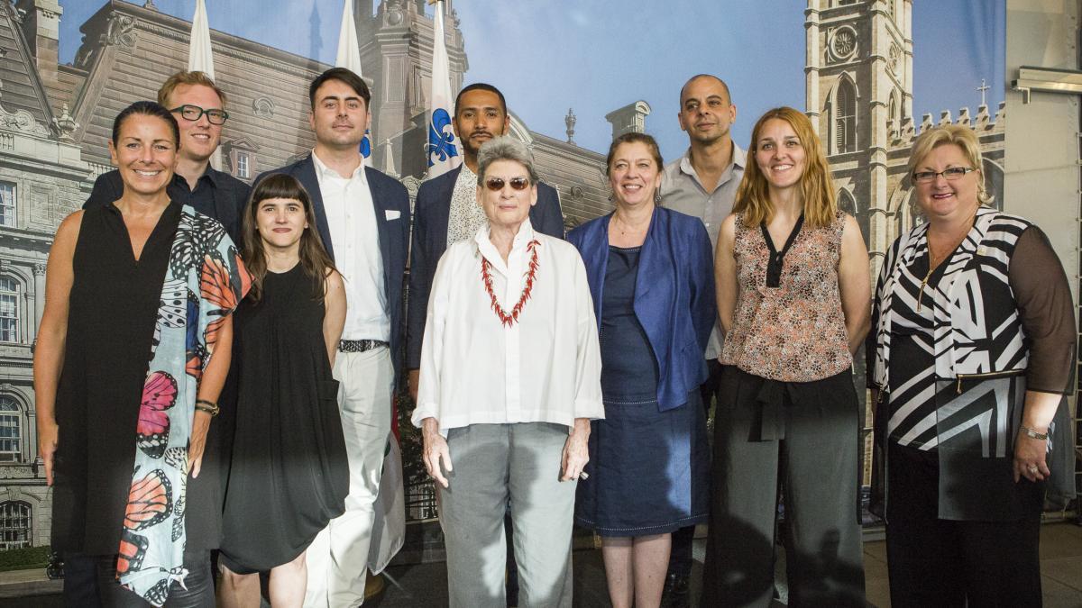 Lauréats et membres du jury