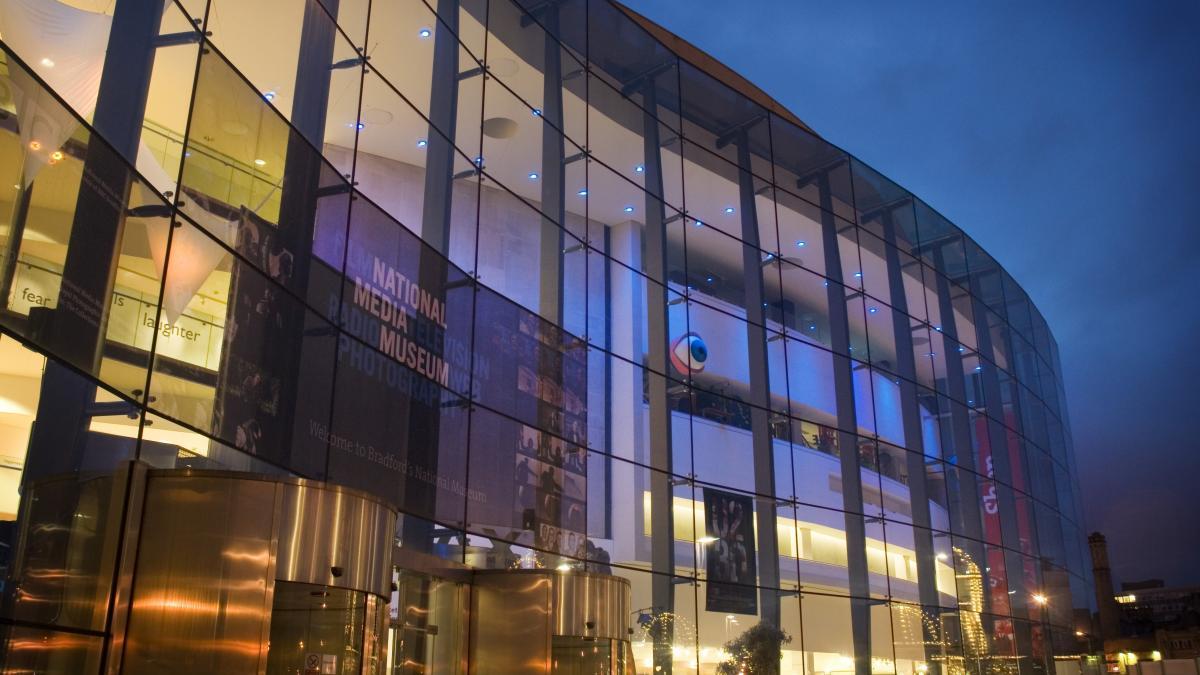 Musée National des médias; Bradford, Angleterre - Ville de cinéma