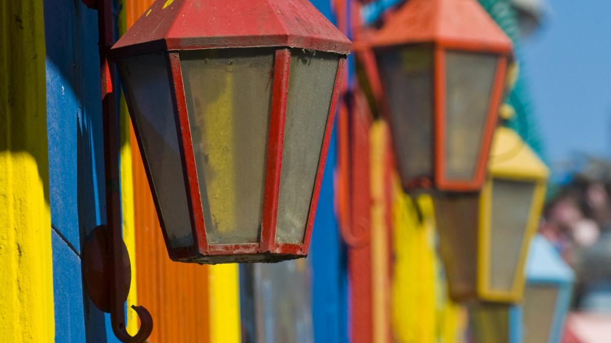 Quartier Historique La Boca; Buenos Aires, Argentine - Ville de design