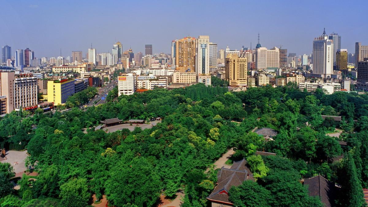 Panorama de Chengdu, Chine - Ville de gastronomie