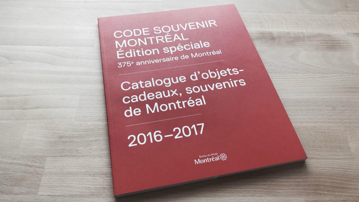 CODE SOUVENIR MONTRÉAL: Édition spéciale 375e anniversaire de Montréal 2016-2017