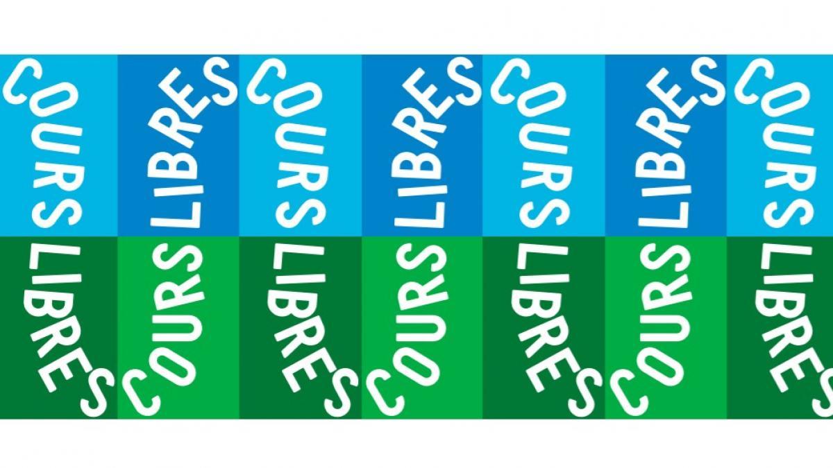 Concept Libre Cours, interventions graphiques