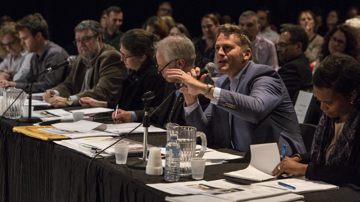 Les membres du jury, 10 octobre 2017