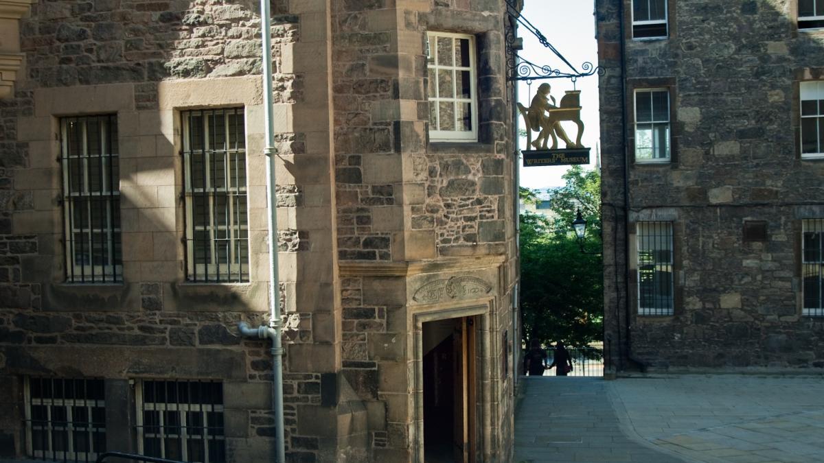 Edinburgh Castle ; Édimbourg, Écosse - Ville de littérature