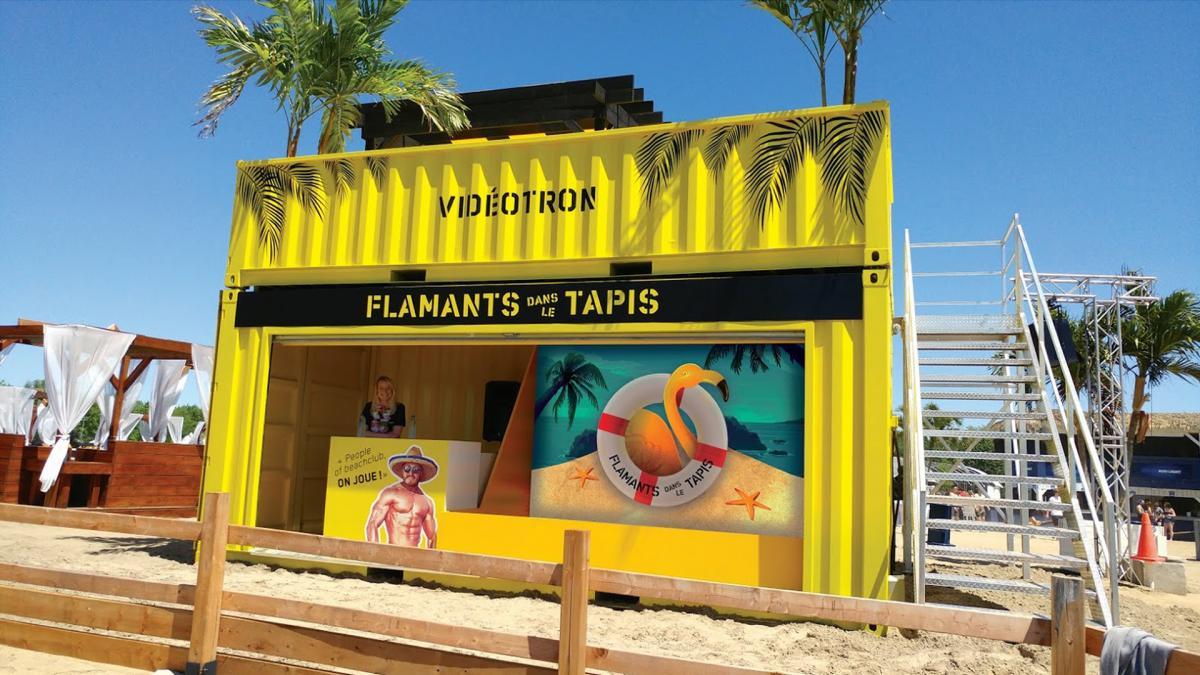 Flamants dans le Tapis, Beach Club, Montréal, 2018-2019