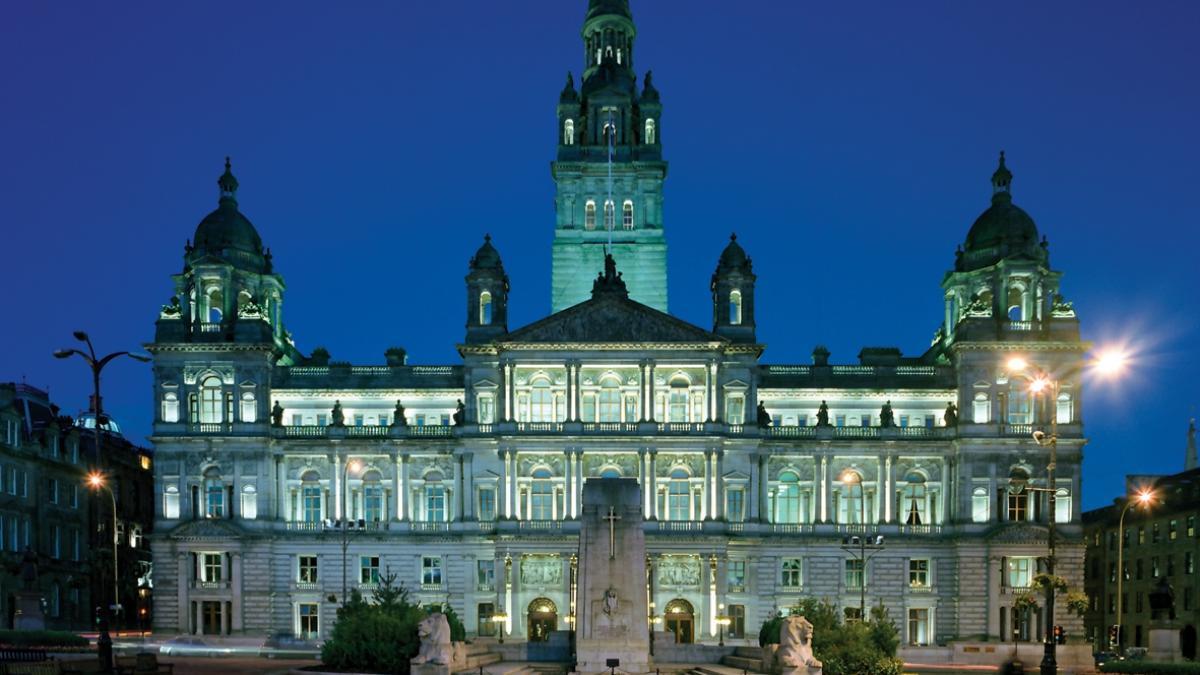 Hôtel de ville de Glasgow, Écosse - Ville de Musique