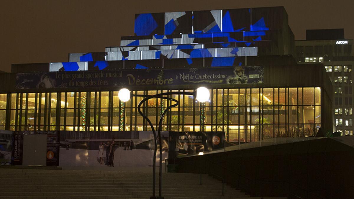 Impulsion - Théâtre Maisonneuve de la Place des Arts -  Iregular