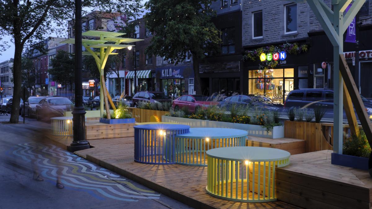 Jardin Nocturne, Montréal, 2021