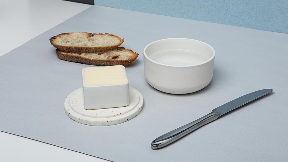 Breton Butter Dish
