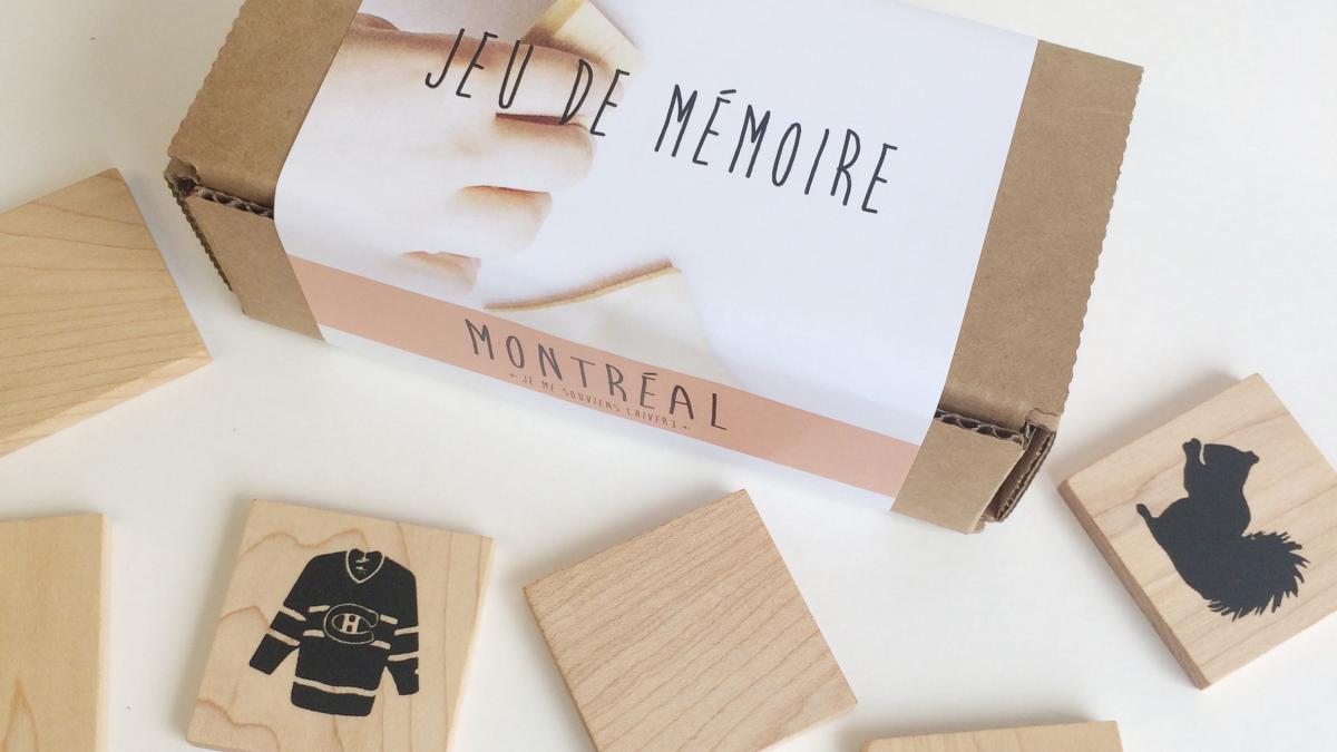 Jeu de mémoire Montréal, je me souviens, Jules mon poisson bulle