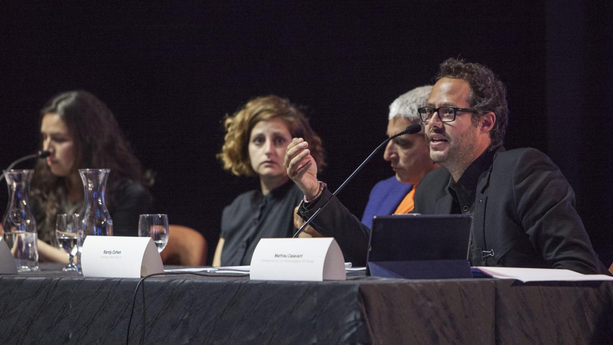 Les membres du jury, 7 septembre 2017