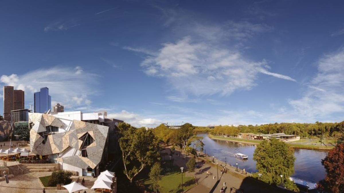 Panorama de Melbourne, Australie - Ville de littérature