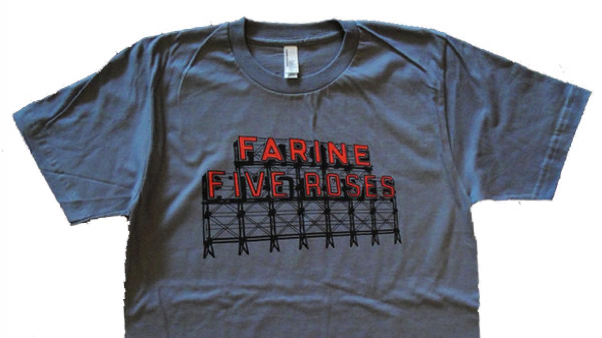 T-Shirt Farine Five Roses, Montréalité