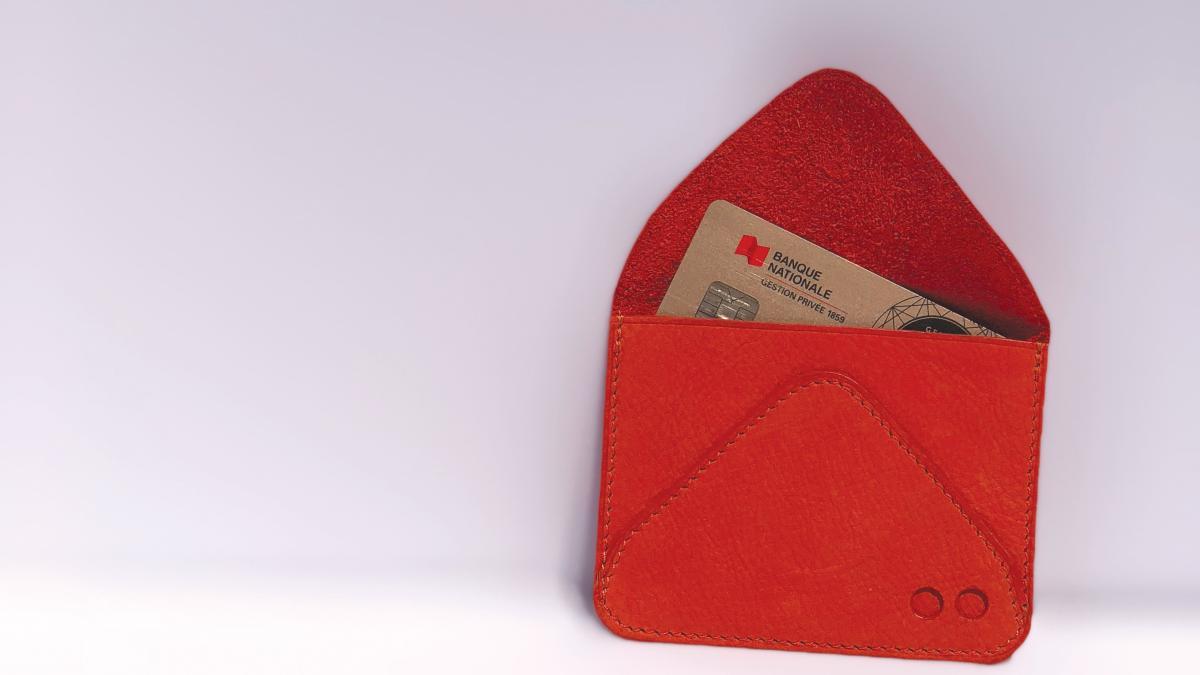 Porte-cartes Nomade