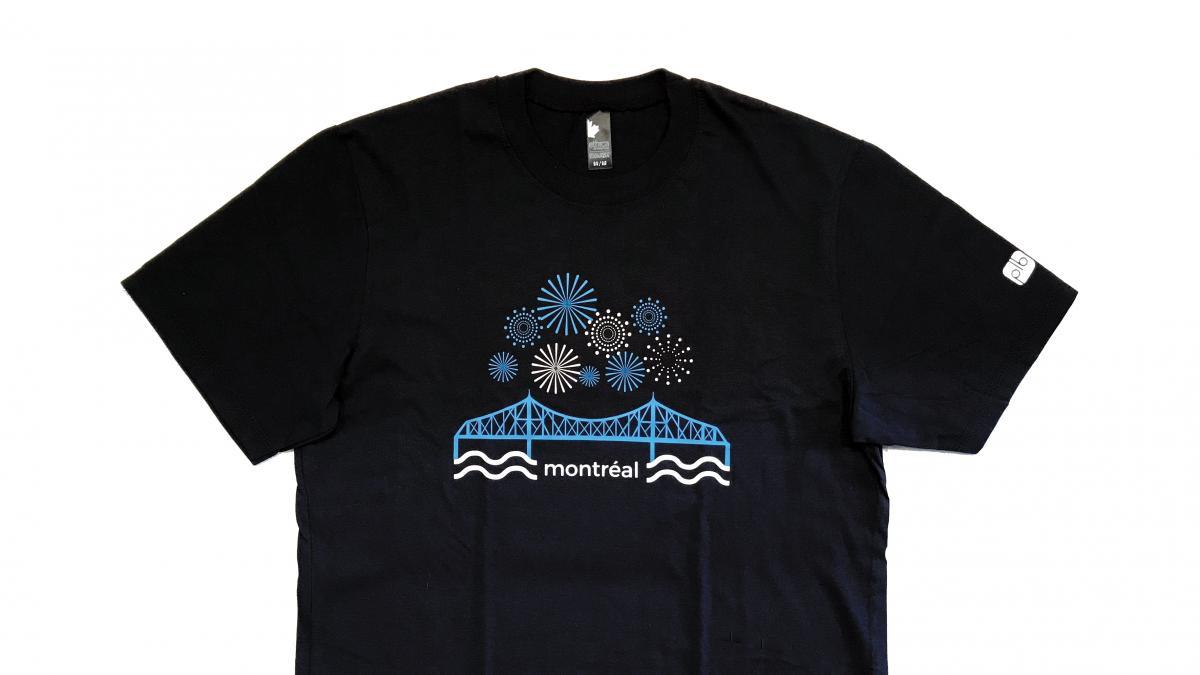 Jacques Cartier Bridge T Shirt Design Montral