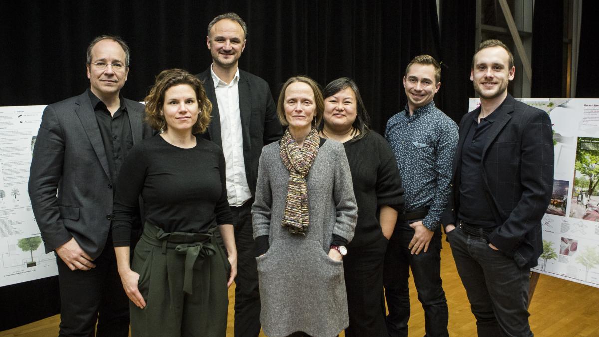 Les membres du jury, 11 janvier 2018