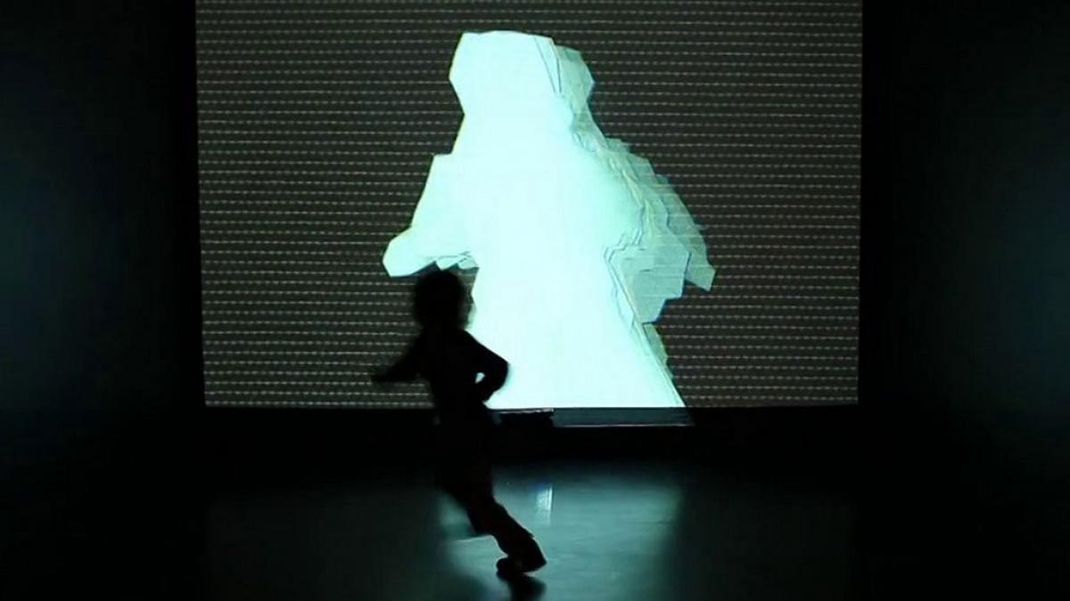Réflexions, installation intéractive, Montréal, 2012
