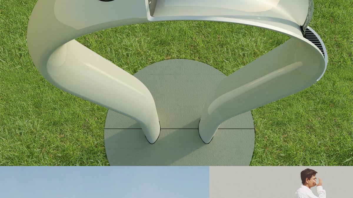 Design de pipes pour La Maison Denison (2010)Projet de fontaine réalisé dans le cadre du concours du Royal Park de Londres