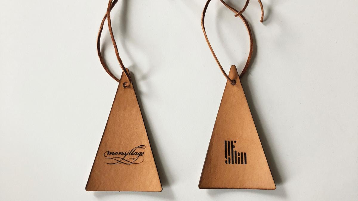 Leather Car Air Freshener — Balsam Fir