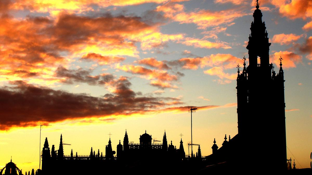 Cathedral and Giralda Tower; Seville, Spain - City of Music