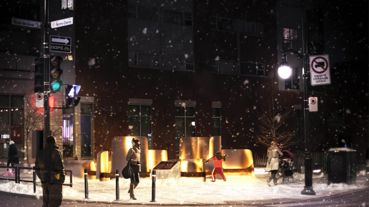 Station hivernale La grande bordée, arrondissement Le Sud-Ouest