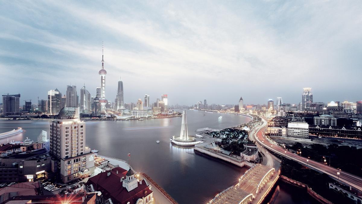 Panorama de Shanghai, Chine - Ville de design