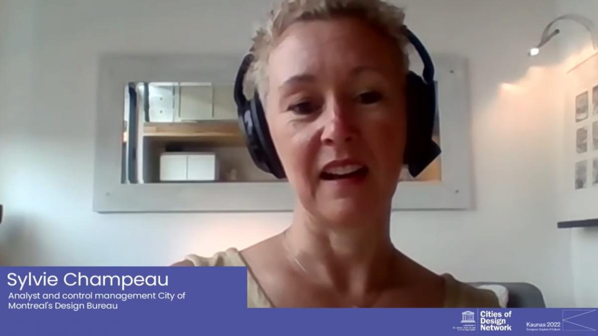 Sylvie Champeau COD meeting, Online discussion, KAUNAS, 2020