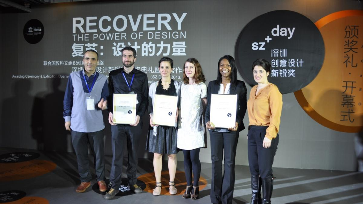 Mr. Fady Attalah, Mr. Thomas-Érik Béliveau, Ms. Mouna Andraos, Ms. Melissa Mongiat, Ms. Stéphanie Jecrois, Design Commissioner, Bureau du design de la Ville de Montréal and Ms. Maud-Andrée Lefebvre, Québec representative in China