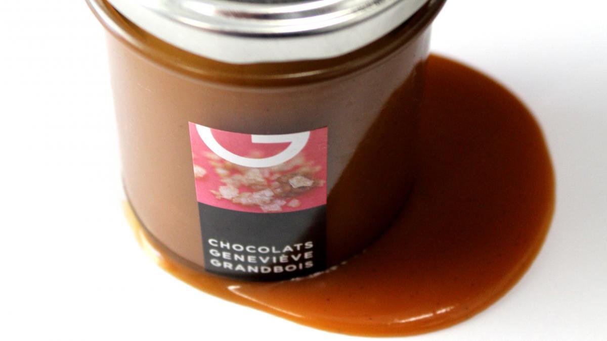 Fleur de sel Caramel Spread