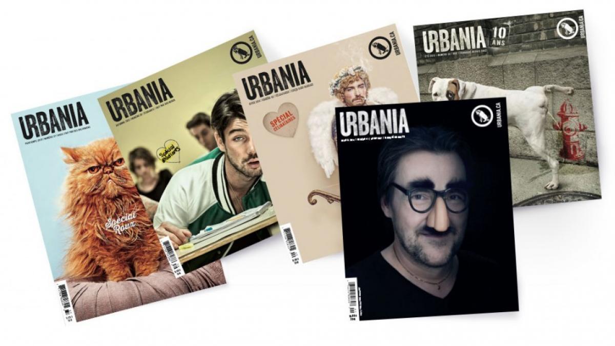 Couvertures Magazine URBANIA