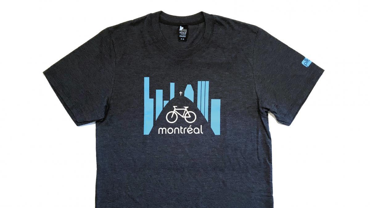 T-shirt Vélo Montréal