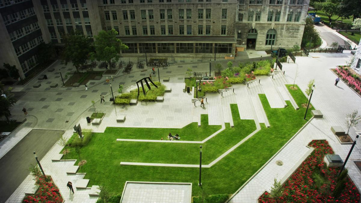 James Square, Université McGill, Montréal