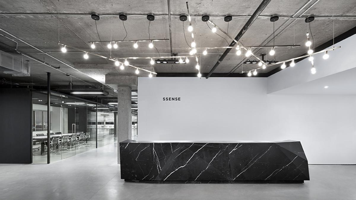 SSENSE head office, Montreal, 2013