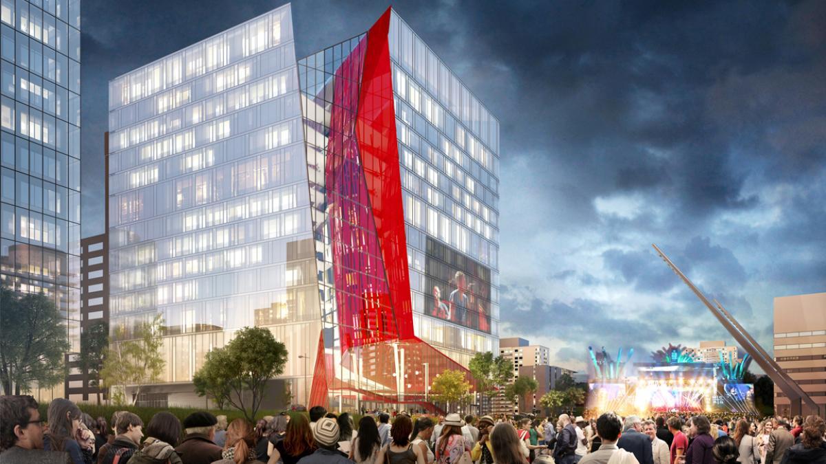 Îlot Balmoral, Montréal, en cours de réalisation