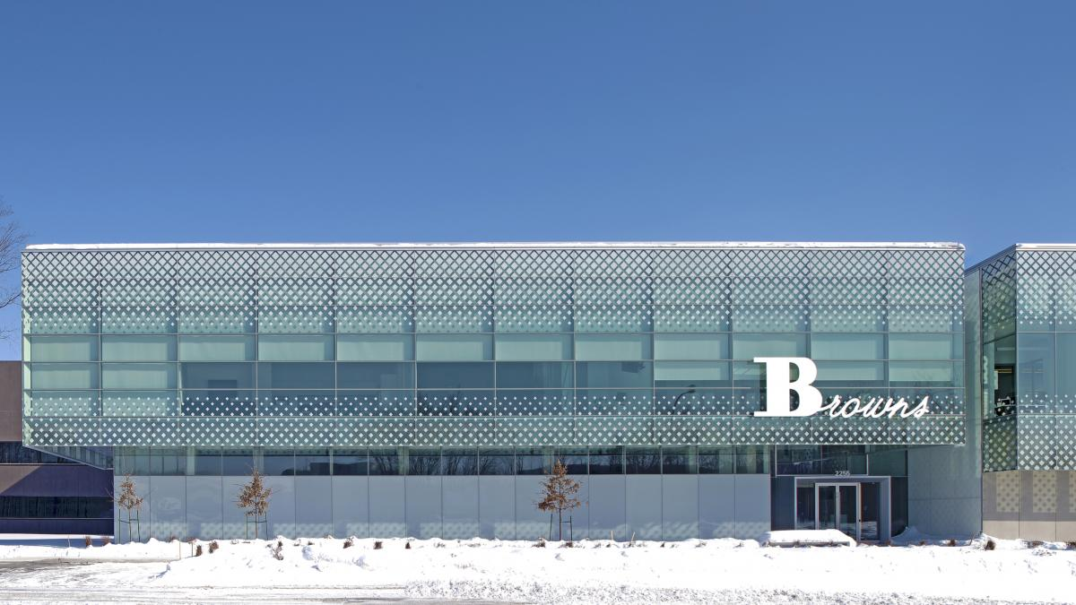 Browns Shoes, Corporate Headquarters and National Distribution Center, Ville St-Laurent, 2014