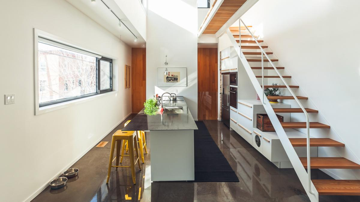 Residential kitchen, Montreal, 2014