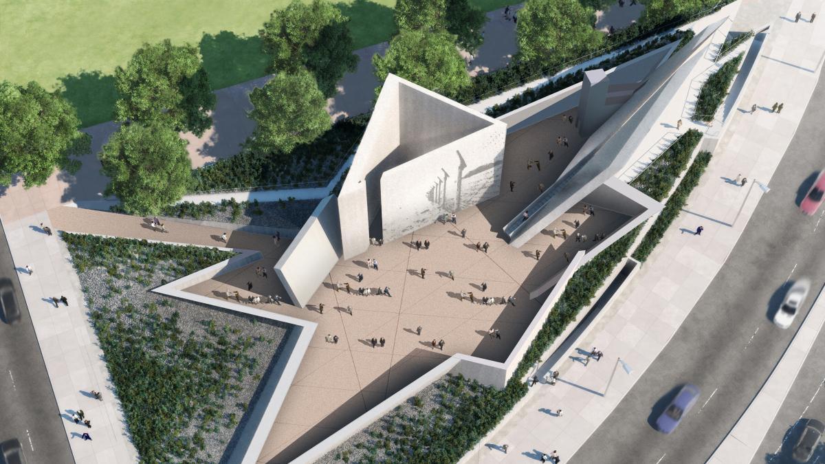 Monument national de l'holocauste, Ottawa, 2017