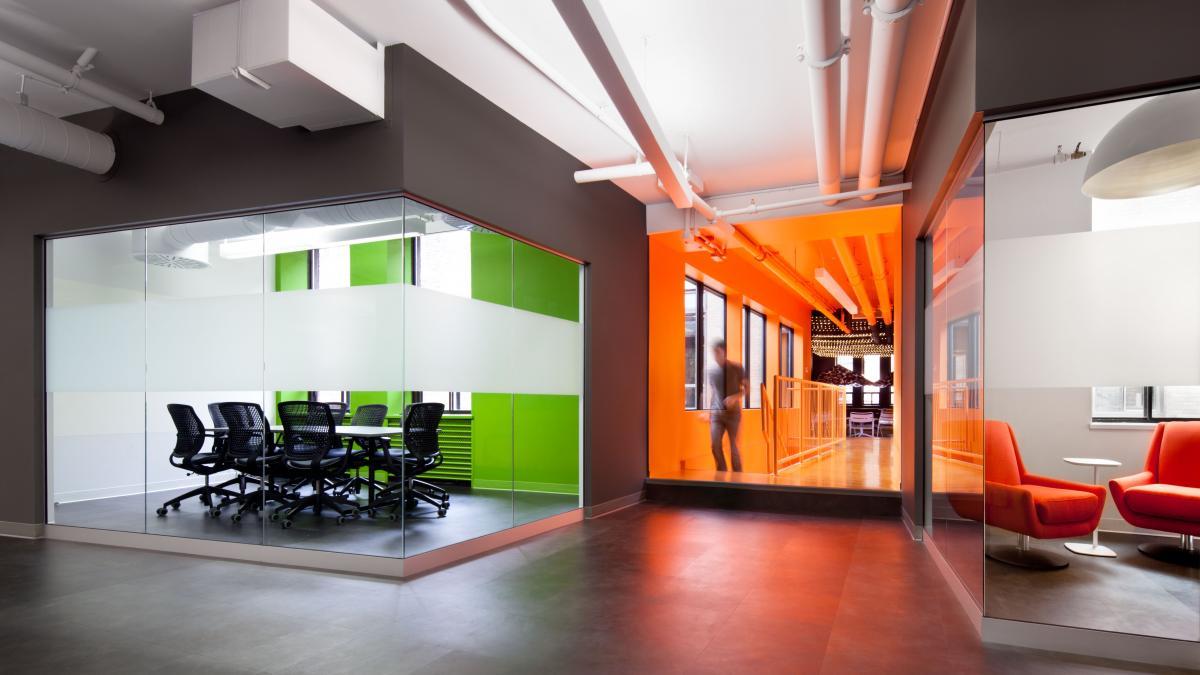 Agrandissement des bureaux de Ludia, Montréal, 2013