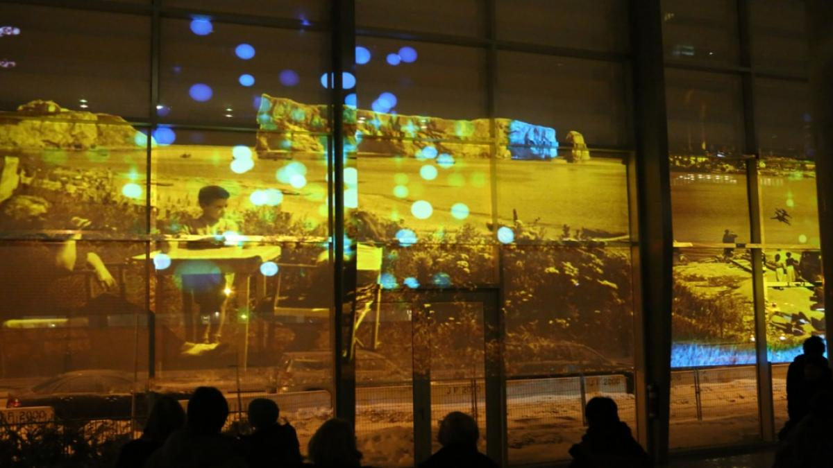 Remixing History @ Nuit Blanche, Montreal, 2014