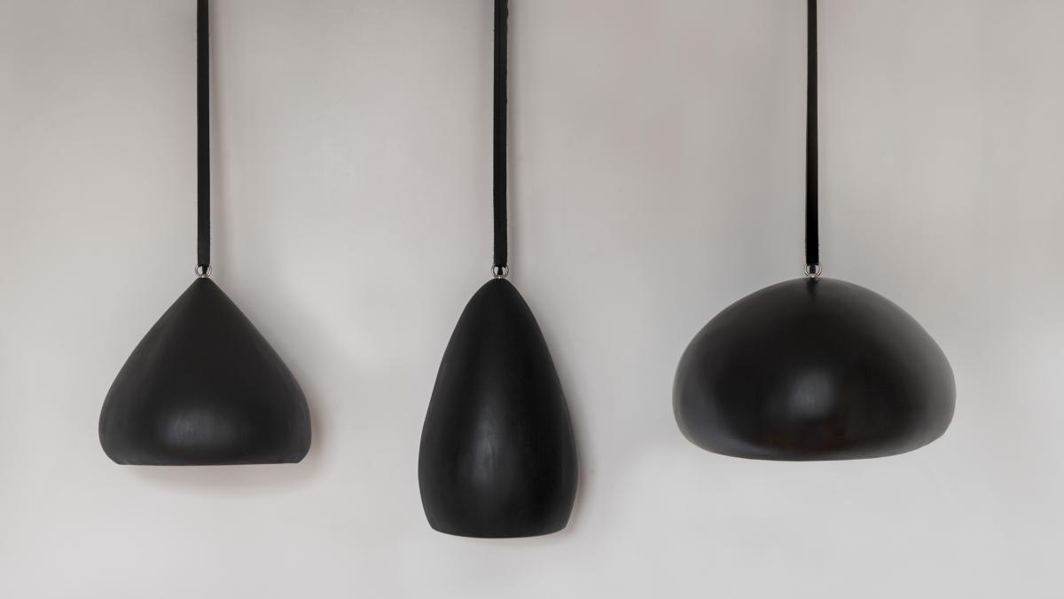 Théo, Rolf & Walt, lampes suspendues, Montréal, 2017