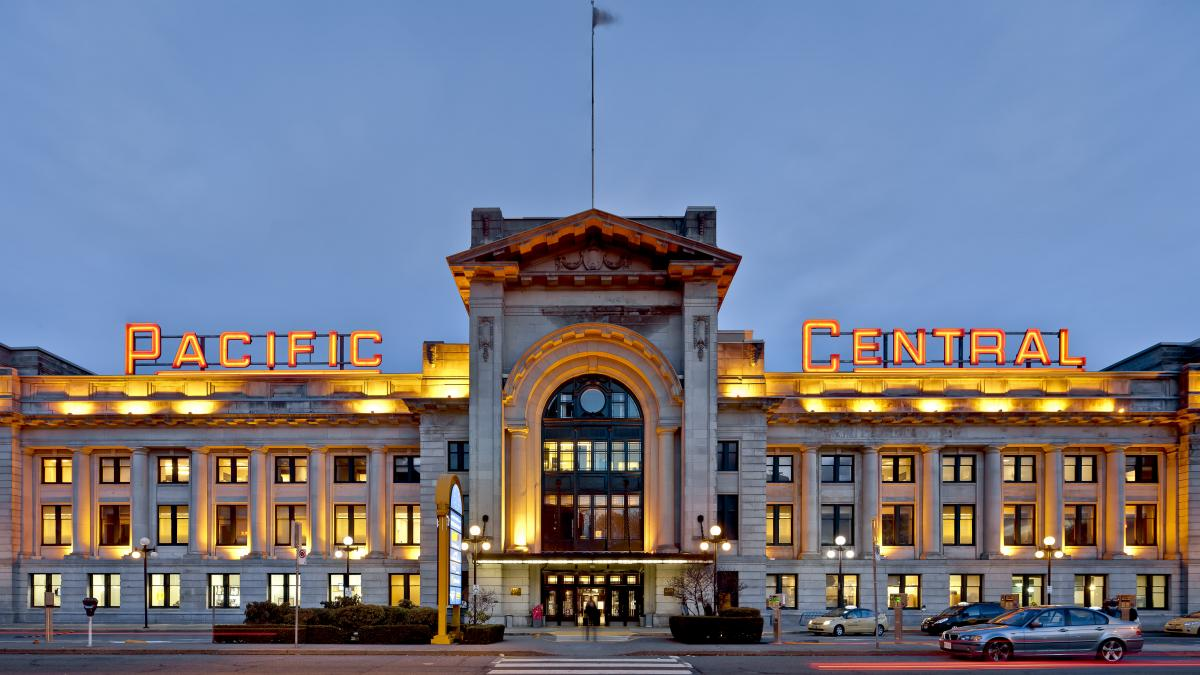 Pacific Central Station, Vancouver, 2009