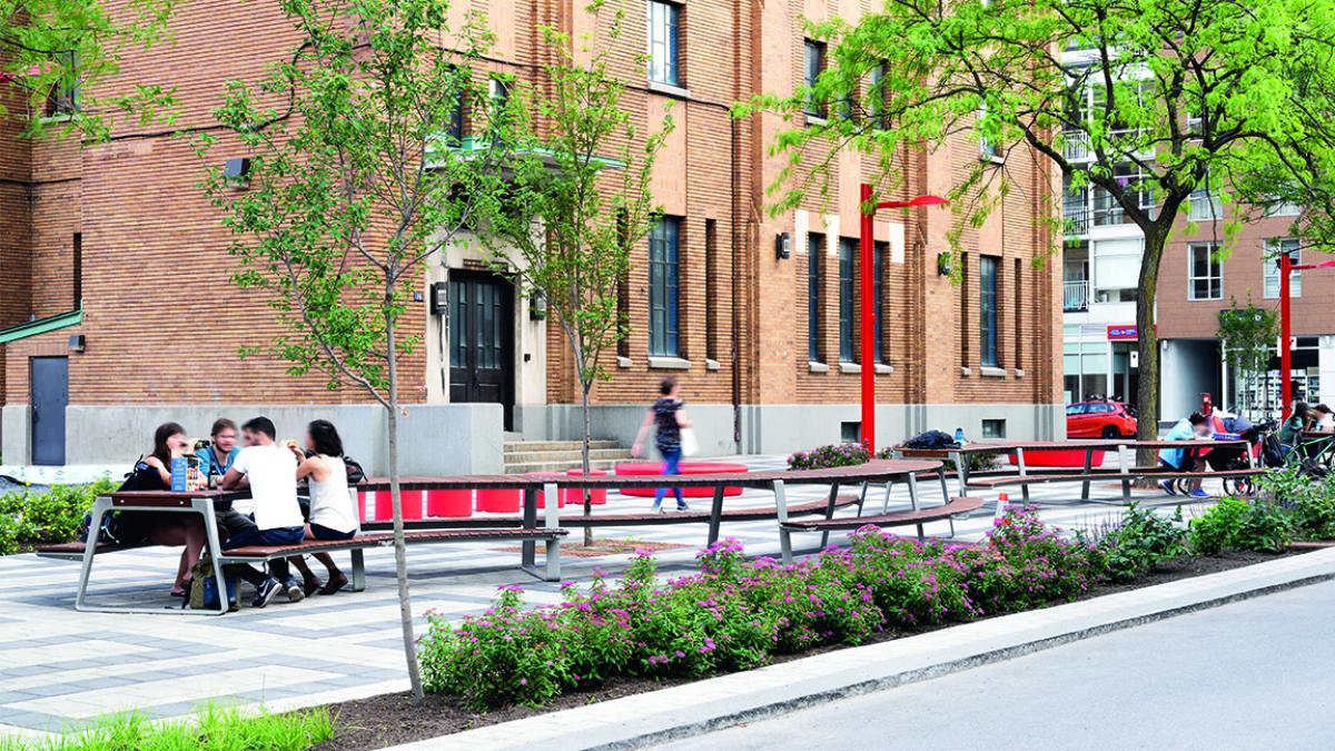 Avenue Shamrock, La grande tablée, Montréal, 2019