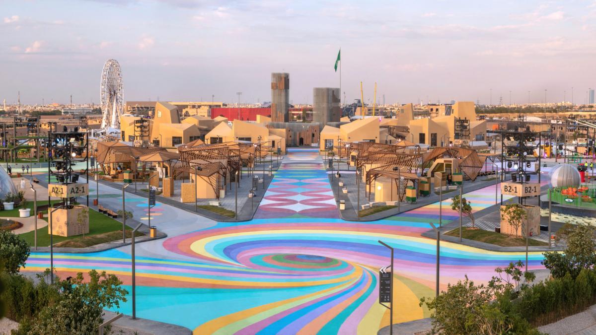 Diriyah Oasis, Ad-Diriyah, Arabie saoudite, 2019