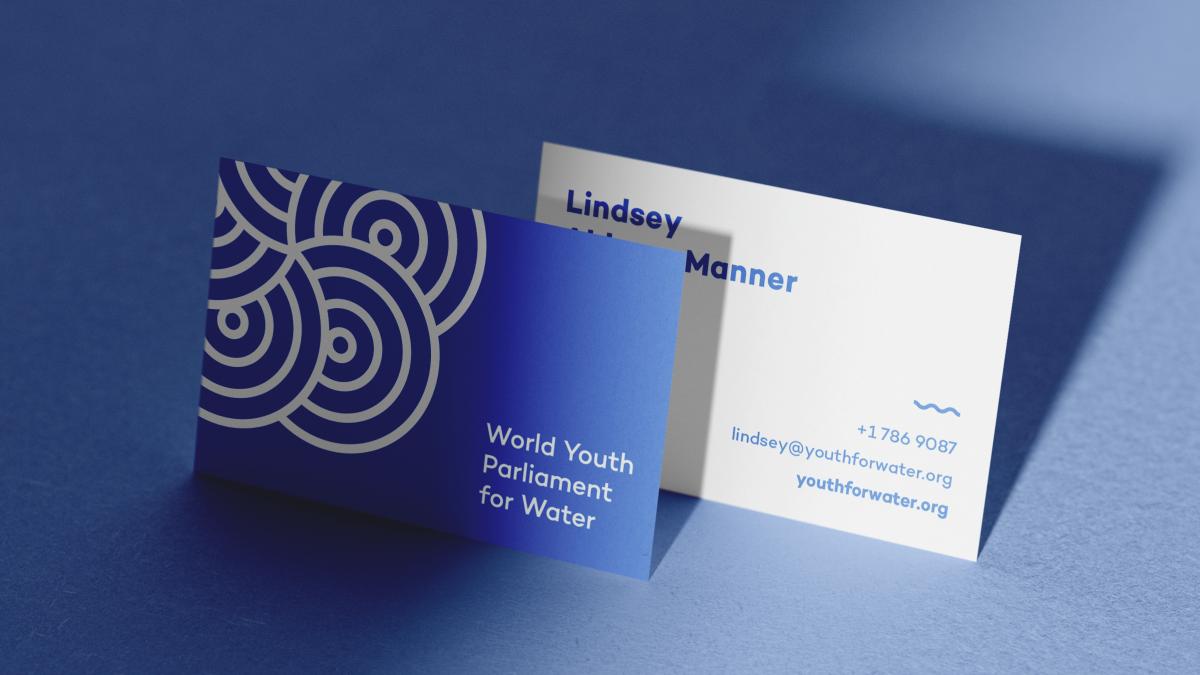 Identité et site internet, Parlement mondial de la jeunesse pour l'eau
