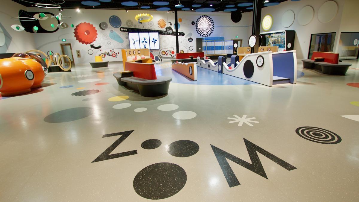 ZOOOM, a multi-sensory children discovery space, Ottawa, 2017